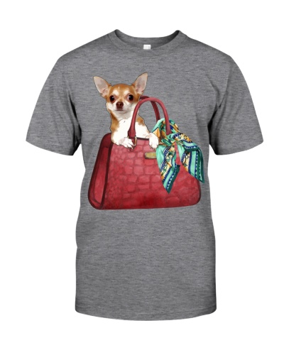 Chihuahua Woman Bag
