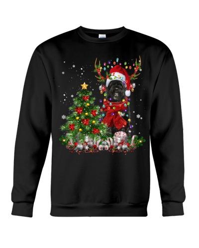 Portuguese Water Dog-Reindeer-Christmas