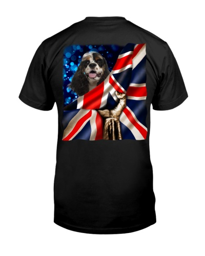 American Cocker Spaniel-The Union Jack