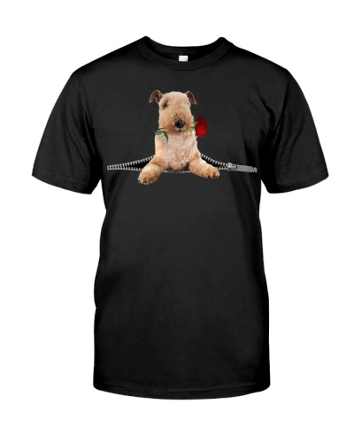 Lakeland Terrier-Rose-Zipper