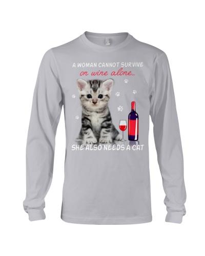 Cat - Wine