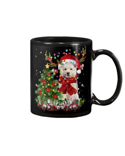 Berger Blanc Suisse-Reindeer-Christmas
