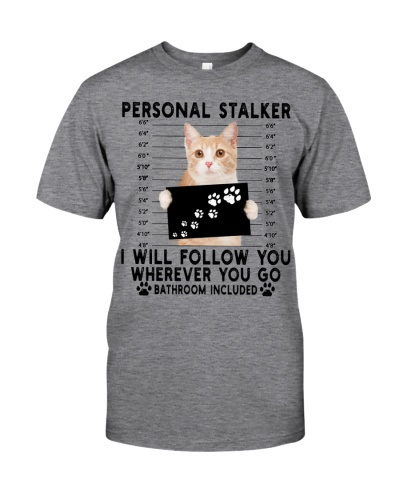 Personal Stalker Manx Cat