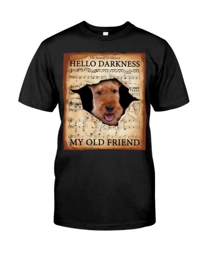 Welsh Terrier Hello Darkness