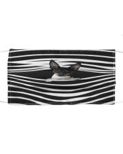 Rat Terrier Stripes FM Cloth face mask front