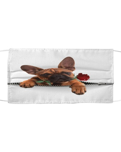 French Bulldog Rose Face