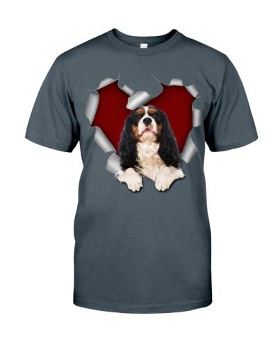 Cavalier King Charles Spaniel 1 Torn Heart