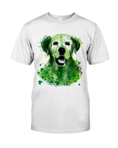 Labrador Retriever Lucky Shamrock