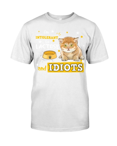 Cat-I'm Intolerant to Lactose and Idiots