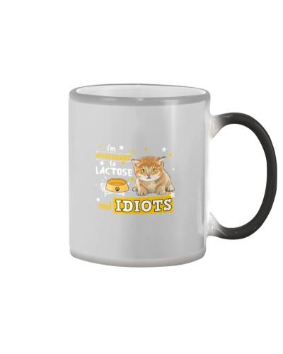 Cat-I'm Intolerant to Lactose and Idiots