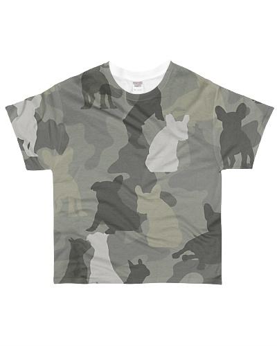 French Bulldog-camouflage