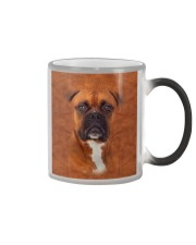 Boxer-Face and Hair Color Changing Mug tile