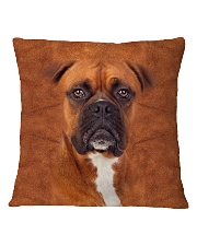 Boxer-Face and Hair Square Pillowcase tile