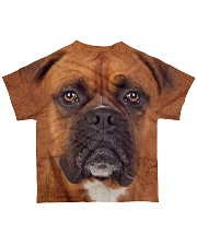 Boxer-Face and Hair All-over T-Shirt back