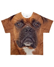 Boxer-Face and Hair All-over T-Shirt front