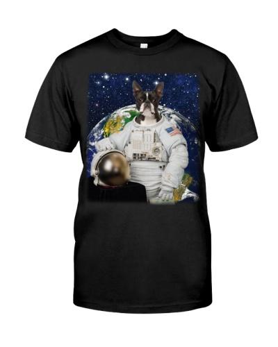 Astronaut-Boston Terrier