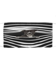 American Pit Bull Terrier Stripes FM Cloth face mask front
