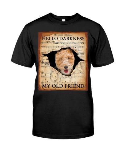 Wire Fox Terrier Hello Darkness