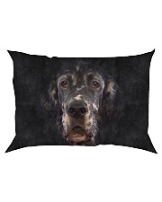 English Setter-Face and Hair Rectangular Pillowcase thumbnail