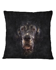 English Setter-Face and Hair Square Pillowcase thumbnail