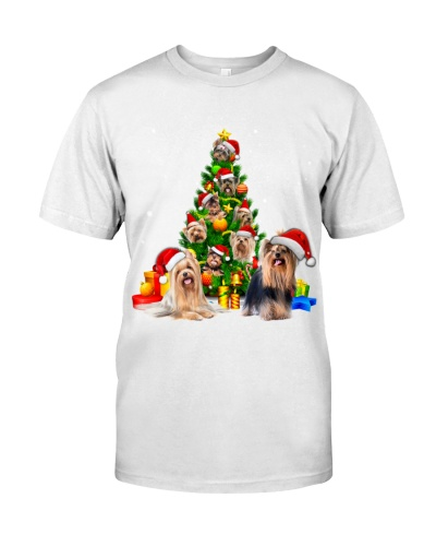 Yorkshire Terrier-Christmas Tree-1