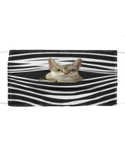 Singapura Cat Stripes FM Cloth face mask front