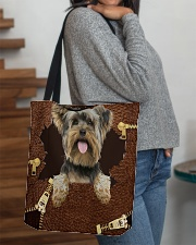 Yorkshire Terrier-NT056-Handbag All-over Tote aos-all-over-tote-lifestyle-front-09
