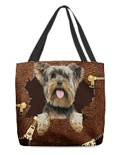 Yorkshire Terrier-NT056-Handbag All-over Tote back