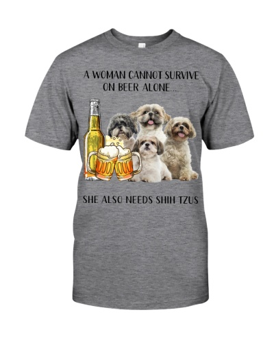 She Also Needs Shih Tzu And Beer