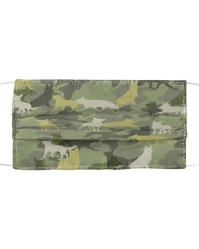 German Shepherd Camouflage FM