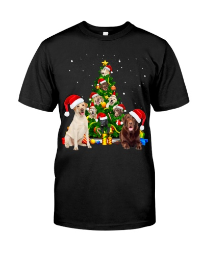 Labrador Retrievers-Christmas Tree