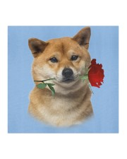 Shiba Inu Rose FM Cloth face mask aos-face-mask-coverlet-lifestyle-front-02