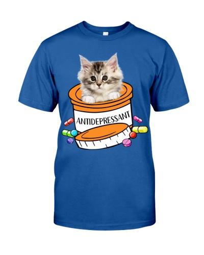 Maine Coon Cat Antidepressant