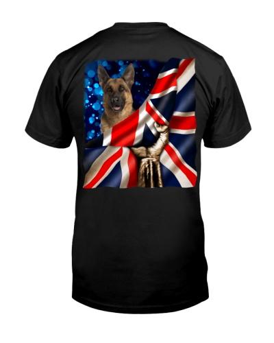 German Shepherd-The Union Jack