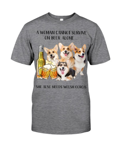 She Also Needs Welsh Corgi And Beer