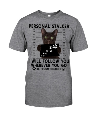Personal Stalker Havana Brown Cat