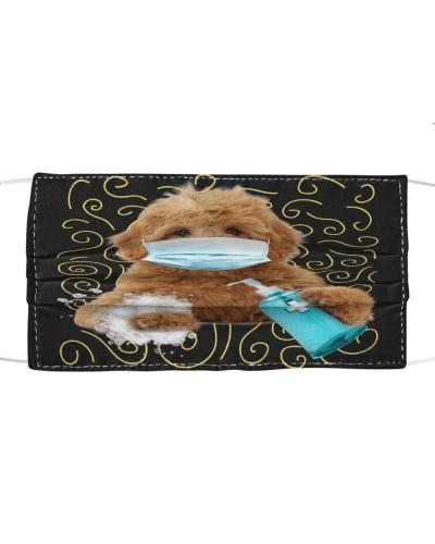 Goldendoodle-Face Mask-Wash