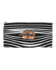 Bloodhound Stripes FM Cloth face mask front