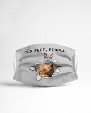 German Shepherd Six Feet People FM Cloth face mask aos-face-mask-lifestyle-22