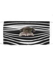 German Shorthaired Pointer Stripes FM Cloth face mask front