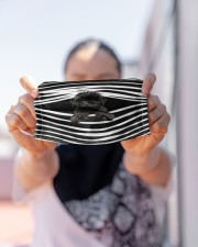 Cavapoo Stripes FM Cloth face mask aos-face-mask-lifestyle-07