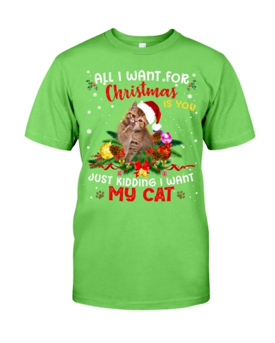 Cat-All I want for christmas