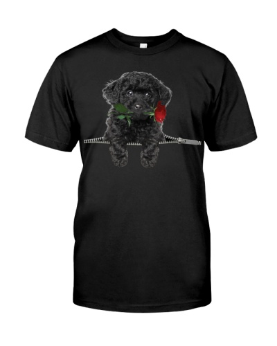 Toy Poodle-Rose-Zipper