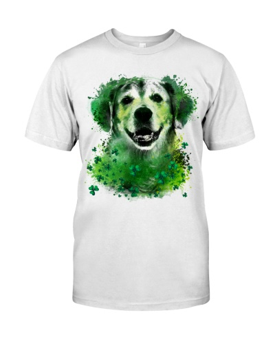 Golden Retriever Lucky Shamrock