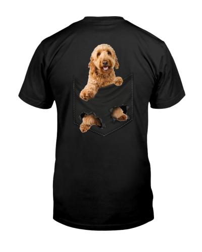 Goldendoodle Back Pocket