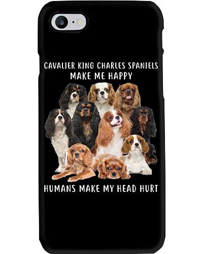 Cavalier King Charles Spaniel Make Me Happy