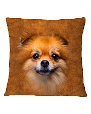 Pomeranian-Face and Hair Square Pillowcase tile