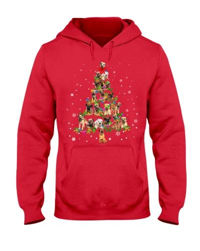 Border Terrier- Christmas Tree