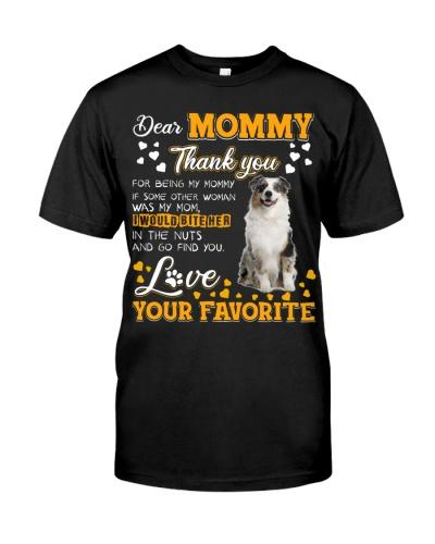 Dear Mommy-Australian Shepherd