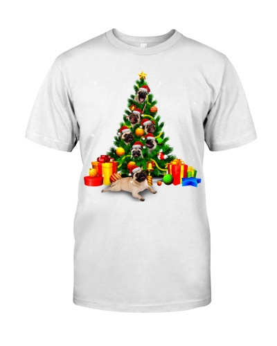 Pugs-Christmas Tree